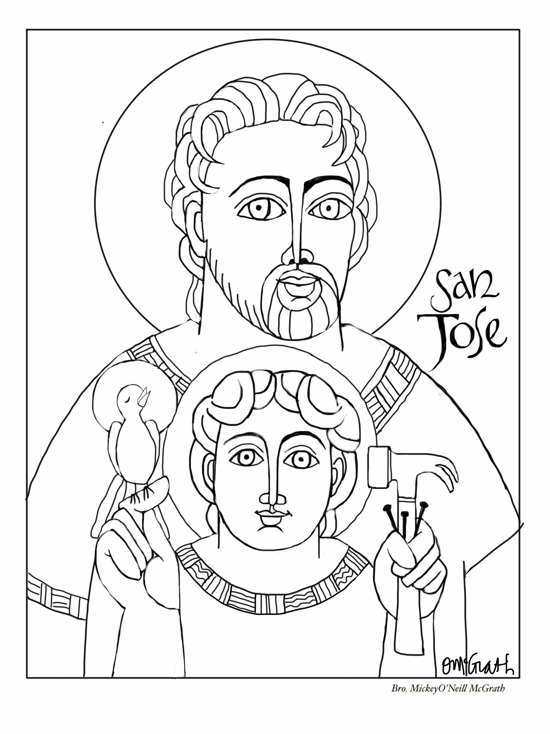 We Are Working Together At Creating A More Loving Peaceful World And Church Click On The Images Below To Download Each Coloring Page