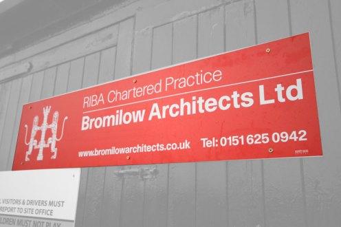 Bromilow Architects Ltd Signboard