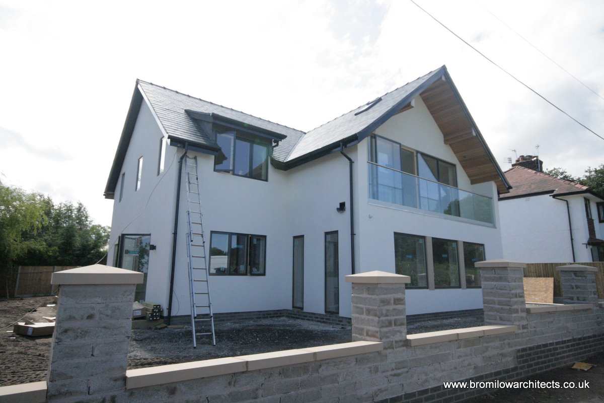 New build house Wirral