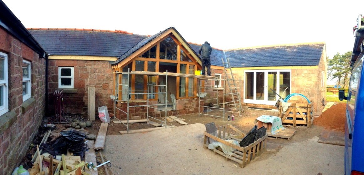 Sandstone cottage refurb 1