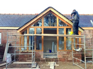 Sandstone cottage refurb 3