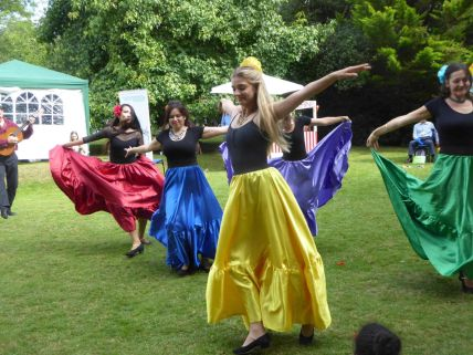 Skylark Ballet School at Ripley Fun Day 2017