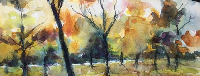 Gail Chalk: Watercolours – an exhibition of water based media 19th September to 3rd November 2017