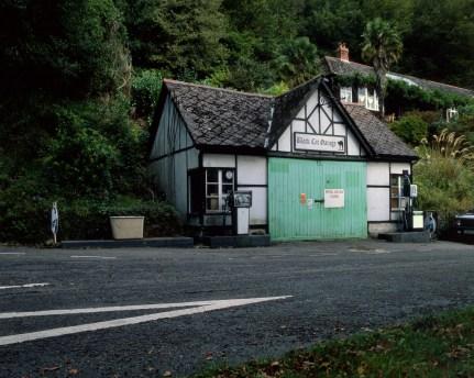Andrew Parker black cat garage