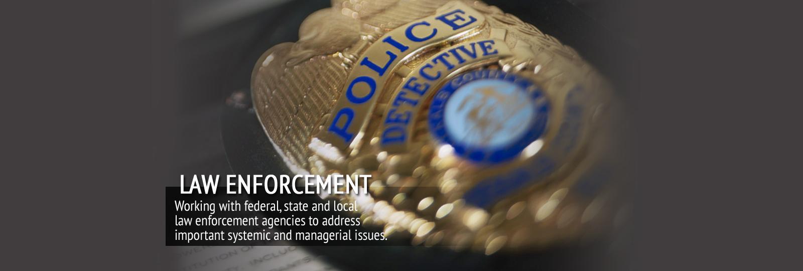 Slide 6 – Law Enforcement
