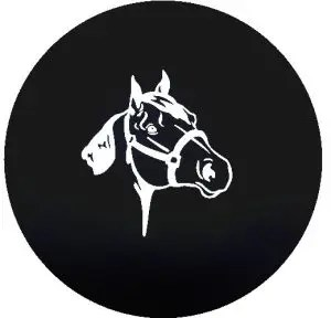 Horse Tire Cover