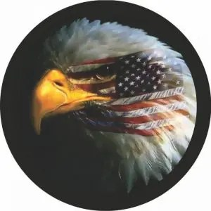 Eagle Flag 2 Tire Cover