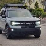 Cactus Gray Bronco Sport Outer Banks Pics Exterior And Interior 2021 Ford Bronco Sport Forum Broncosportforum Com