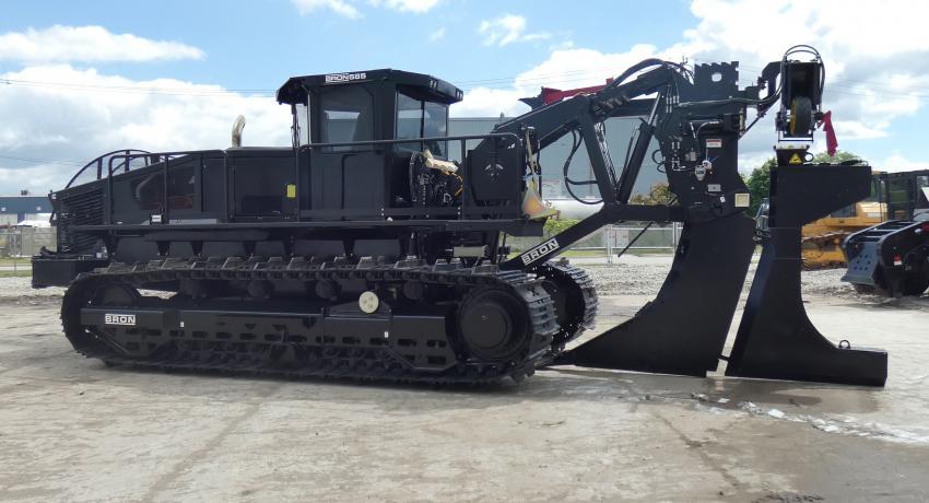 heavy equipment drainage utility plow