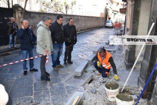 BRONTE: BARRIERE ARCHITETTONICHE ANASTASI RIPRENDE LA PROTESTA