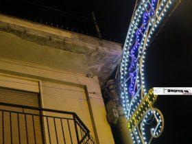MALETTO, CADE INTONACO: DUE FERITI LIEVI – LE FOTO