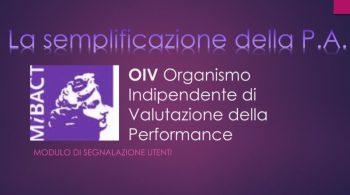 BRONTE: ORGANISMO DI VALUTAZIONE, IL SINDACO HA REVOCATO I TRE MANDATI