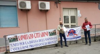 """OSPEDALE DI BRONTE: «SAREBBE TRASFORMATO IN """"PRIMO SOCCORSO"""" SENZA IL PUNTO NASCITE»"""