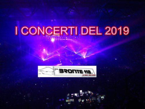 SICILIA: I CONCERTI DEL 2019 – ARRIVA L'AUTUNNO