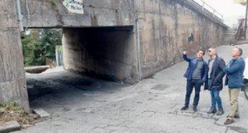 BRONTE: IL COMUNE INTERVERRA' NEI DUE CAVALCAVIA DI VIA DUCA D'AOSTA