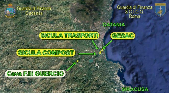 CATANIA: BLITZ DELLA GDF SUI RIFIUTI, COINVOLTO FUNZIONARIO DI BRONTE