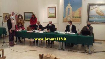 BRONTE: ALDO CATANIA PRESIDENTE DEL CONSIGLIO COMUNALE, CUZZUMBO IL VICE