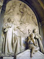 Giuseppe Prinzi, mausoleo del Card. Antonino De Luca, Roma