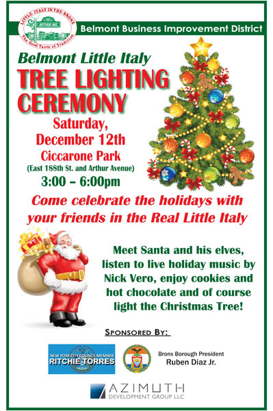Tree Lighting Ceremony 12.15