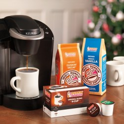 BronxMama Giveaway: Dunkin Donuts K-Cups and a Keurig!