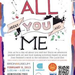 Family Affair at Bronx Museum: All About You and Me-Feb. 16th