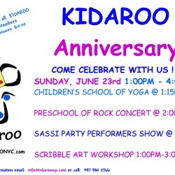 Kidaroo Anniversary Celebration