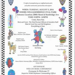 52nd Precinct National Night Out
