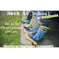 Back to School with Bogs Footwear *Giveaway*