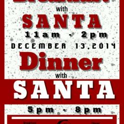 Breakfast/Dinner with Santa