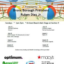 Bronx Summer Concert Series at Orchard Beach 2015