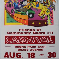 Friends of Community Board #11 Carnival