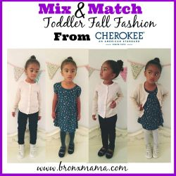 Mix & Match Toddler Fashion from Cherokee USA
