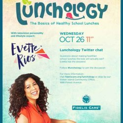 Join Bronxmama for a Lunchology Twitter Chat with Evette Rios
