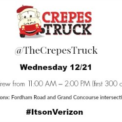 Verizon's Food Truck Takeover Brings Free Crepes & Hot Chocolate to the Bronx +Google Pixel Giveaway