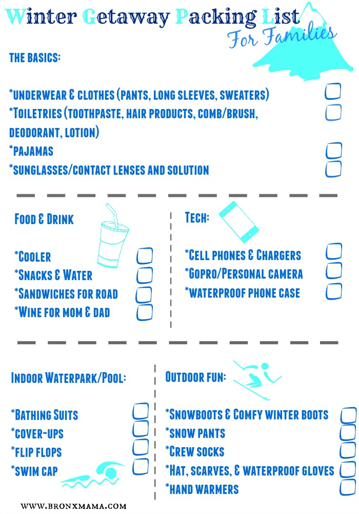 bronxmama winter packing list