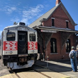 Easter Bunny Express in Thomaston Connecticut