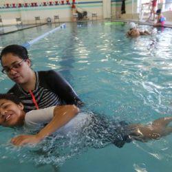 Bronx mom, YMCA teach adaptive swimming classes for children on autism spectrum