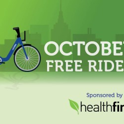 Free Unlimited Citi Bike Rides on October 13th Courtesy of Healthfirst