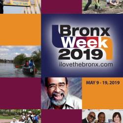 Bronx Week 2019 Calendar