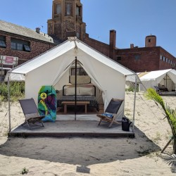 Glamping at Camp Rockaway