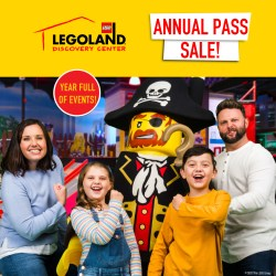 Giveaway: LEGOLAND Discovery Center Annual Pass Family Pack