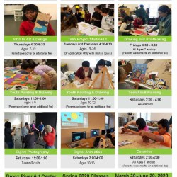 Registration for Bronx River Art Center Spring Classes
