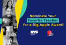 Nominate an Outstanding Educator for the Big Apple Awards by January 10