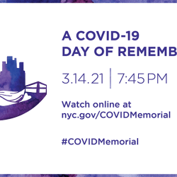 COVID-19 Day of Remembrance- New Yorkers Invited to Honor Loved Ones