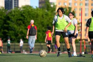 Youth Soccer Program in the Bronx Kicks Off Fundraiser