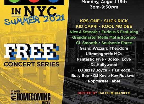 Free Hip Hop Concert Series with First Stop in the Bronx