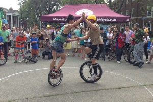 12th Annual New York City Unicycle Festival in the Bronx
