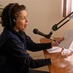 Sylvia at WPCA Radio studio