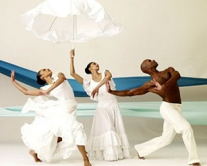 ailey dancers Revelations water