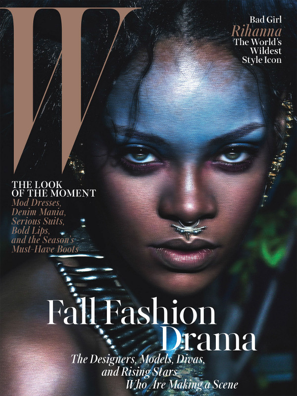 rihanna-september-cover W Magazine resized